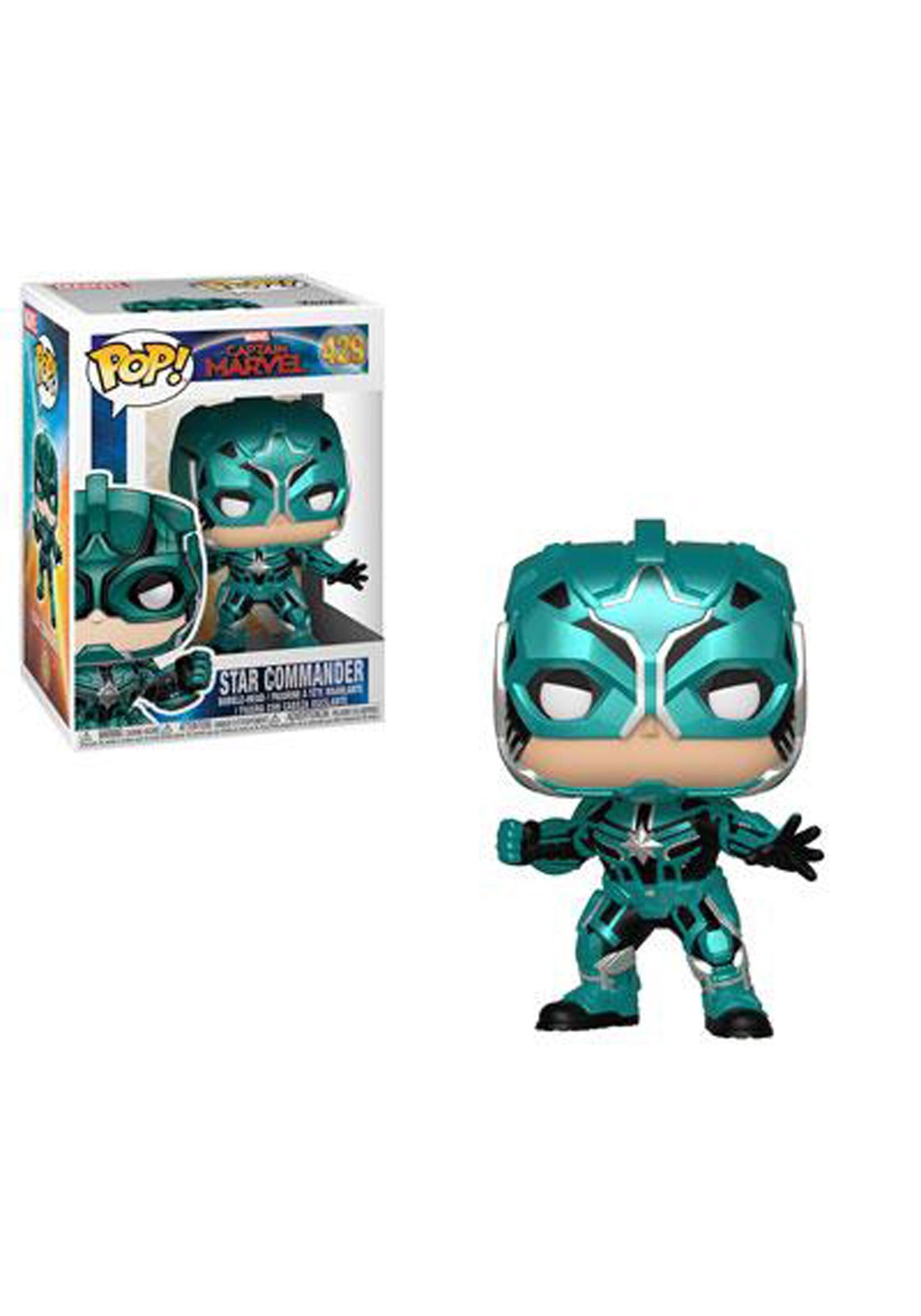 Pop! Marvel: Star Commander- Captain Marvel
