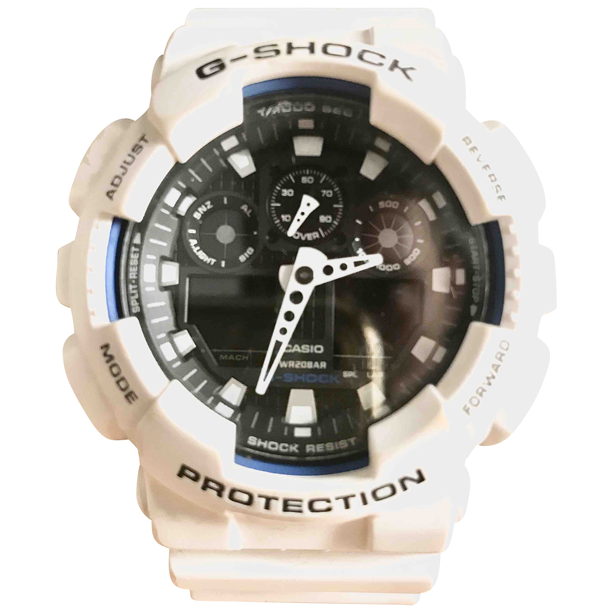 Casio N White Steel watch for Men N