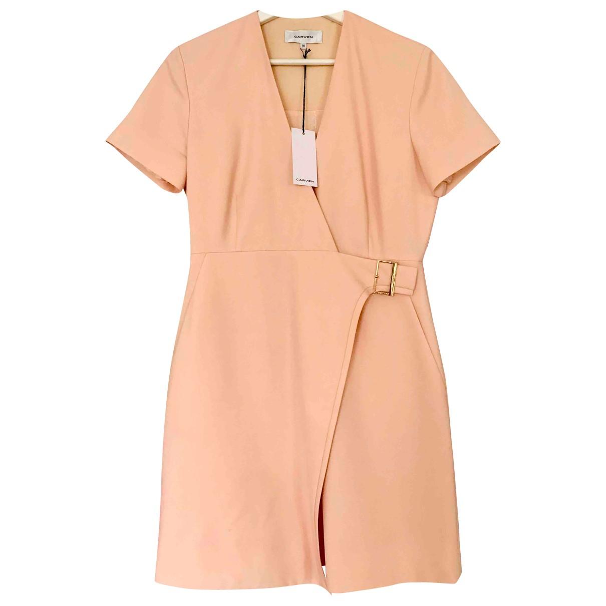 Carven \N Kleid in  Rosa Polyester