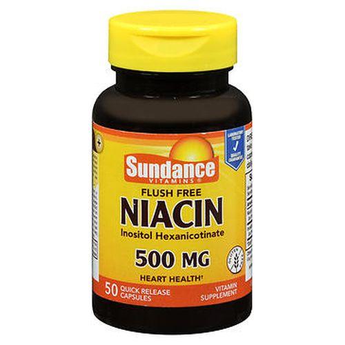 Sundance Flush Free Niacin Capsules 50 Caps by Natures Truth
