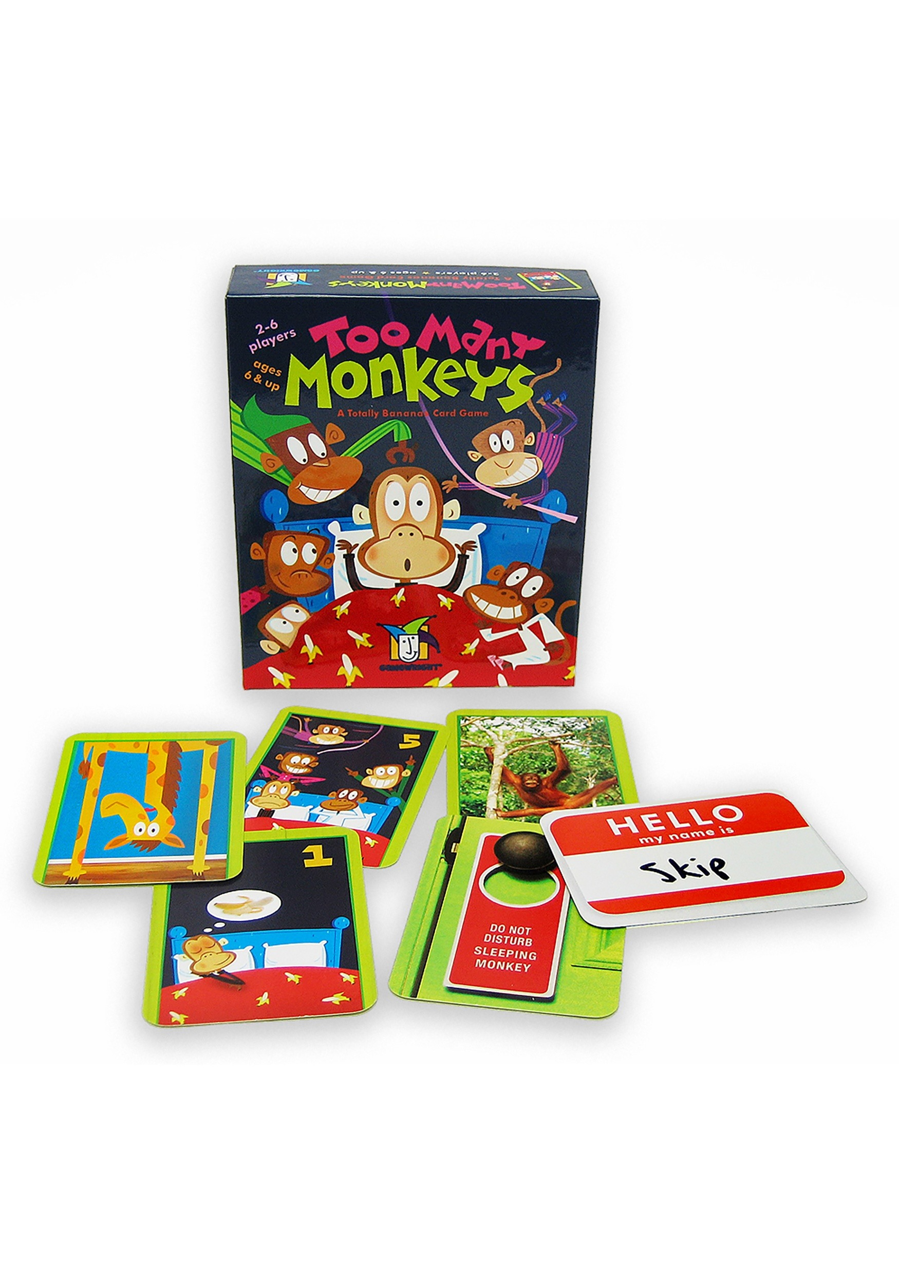 Gamewright Too Many Monkeys: A Totally Bananas Card Game