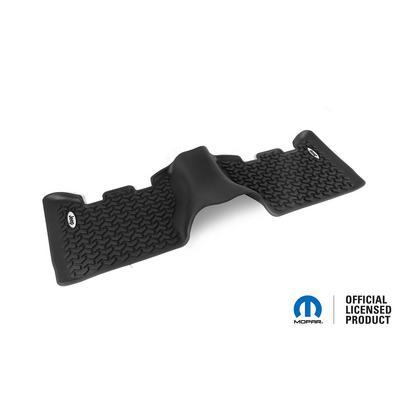 Rugged Ridge All Terrain Floor Liner, Rear (Black) - DMC-12950.24