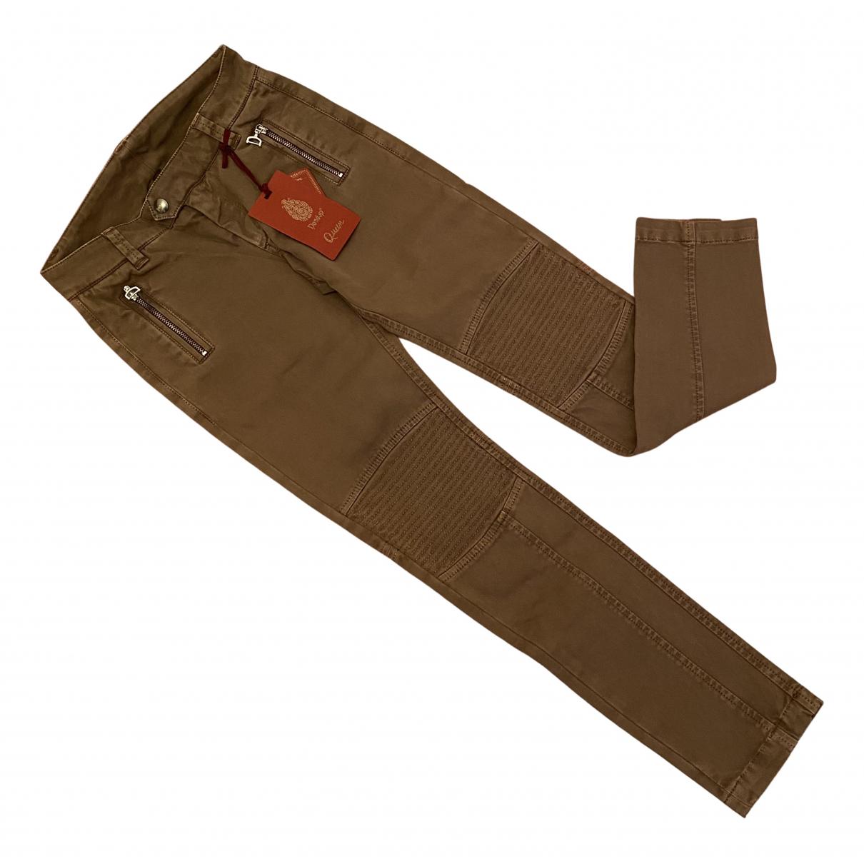 Dondup - Pantalon   pour enfant en coton - marron