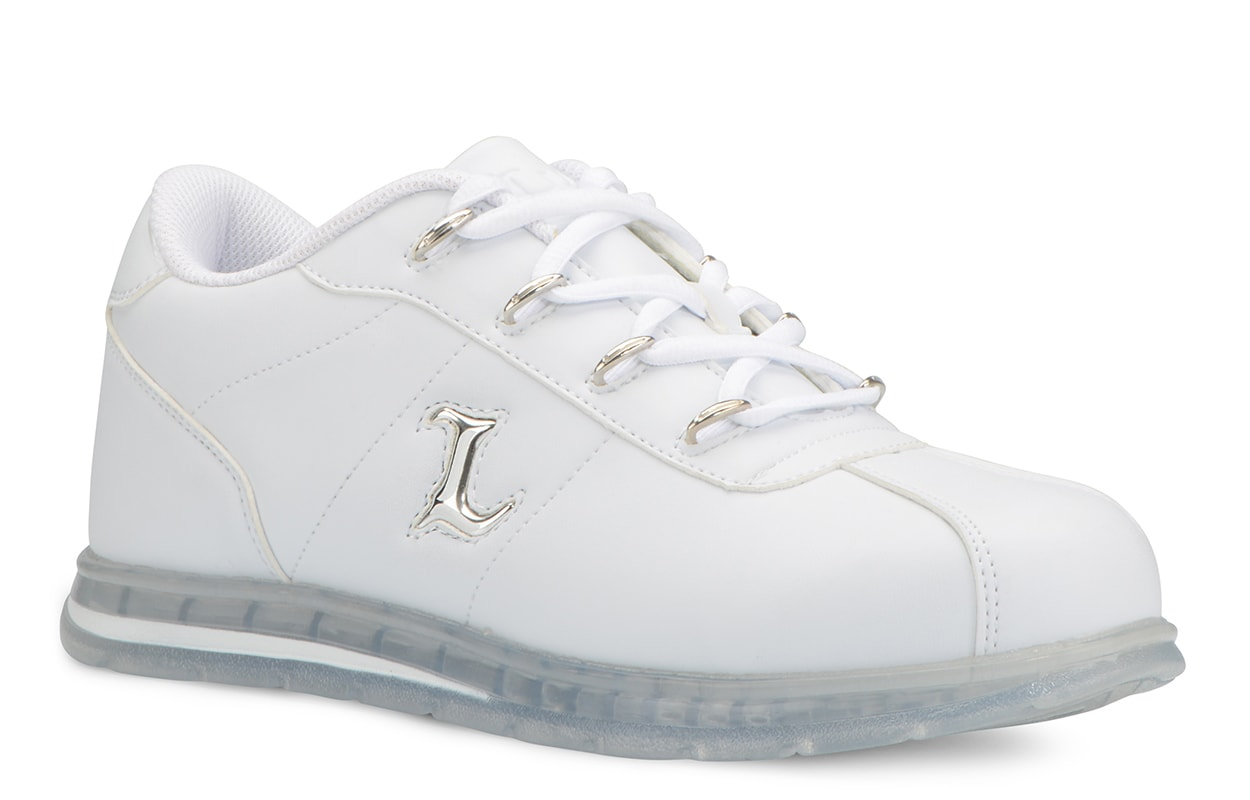 Men's Zrocs DX Oxford Sneaker (Choose Your Color: WHITE/CLEAR, Choose Your Size: 8.0)