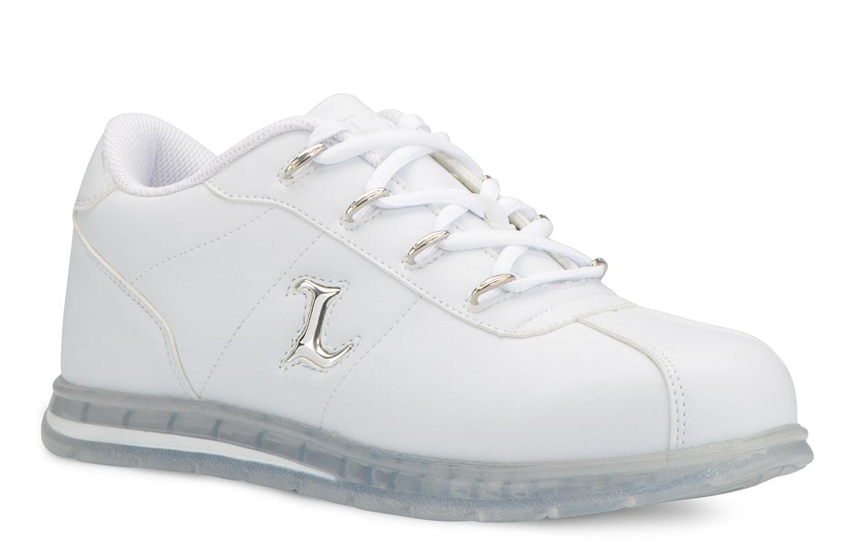 Men's Zrocs DX Oxford Sneaker (Choose Your Color: WHITE/CLEAR, Choose Your Size: 7.0)