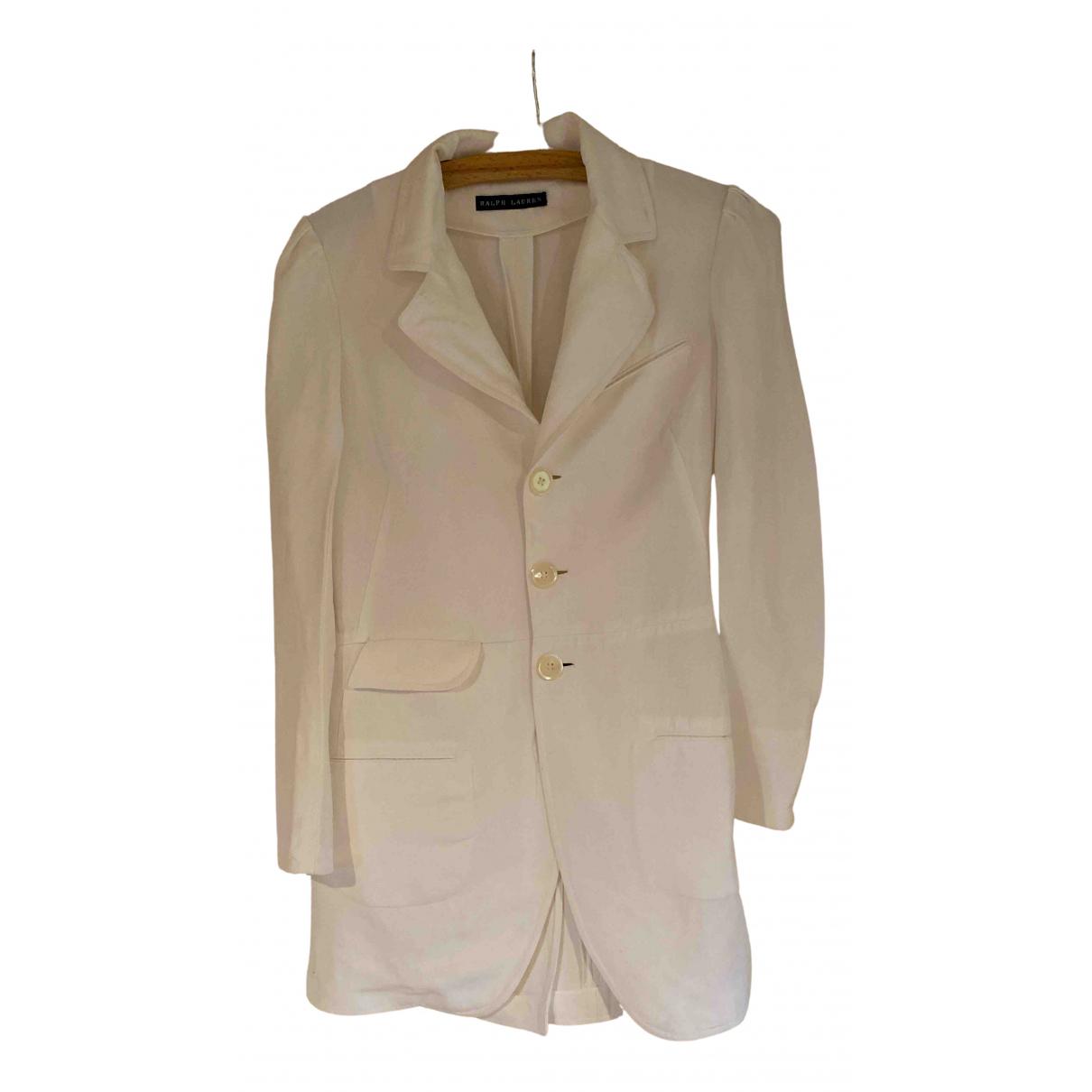 Ralph Lauren N White Linen jacket for Women 2 US