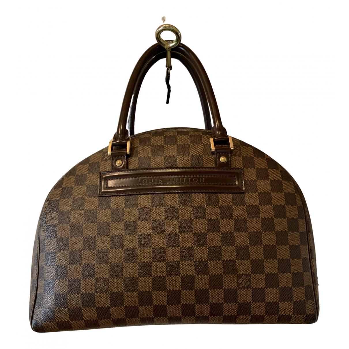 Louis Vuitton Nolita Brown Cloth handbag for Women \N