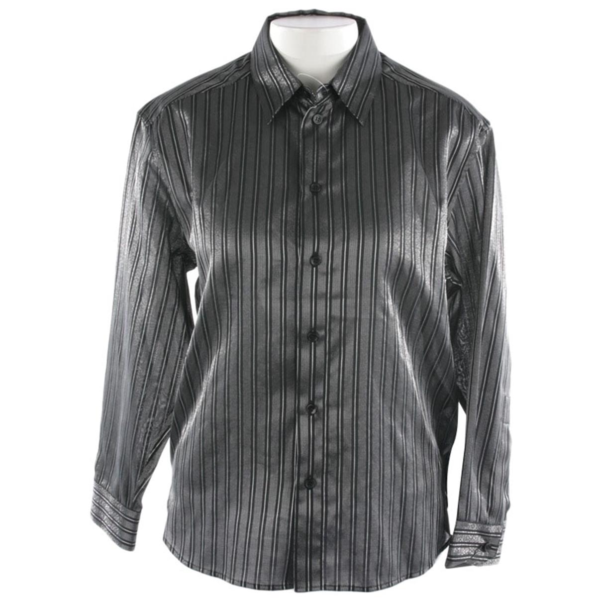 Saint Laurent - Top   pour femme en coton - noir