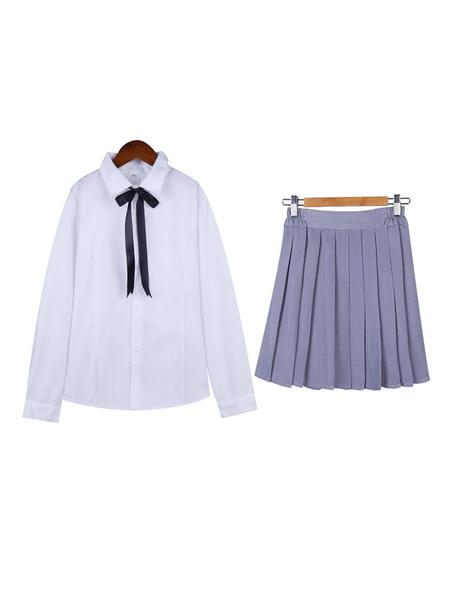 Milanoo Japanese Private School Uniform For Girls Korean School Uniform Halloween