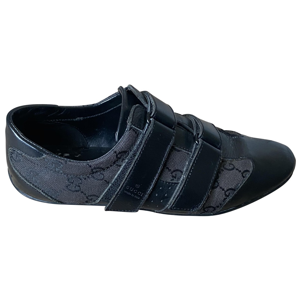 Gucci - Baskets   pour femme en toile - noir