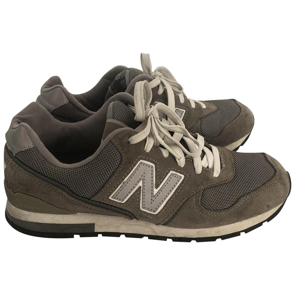 New Balance \N Sneakers in  Khaki Veloursleder