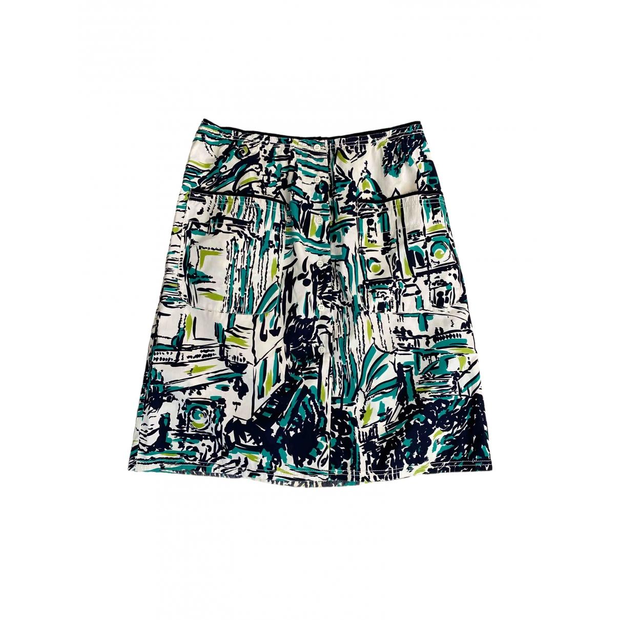 Prada \N Multicolour Cotton skirt for Women 44 IT