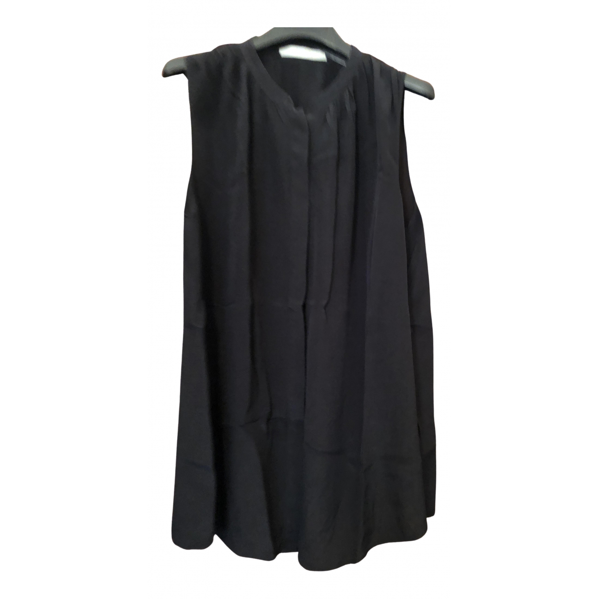 Uterque N Black Silk  top for Women M International