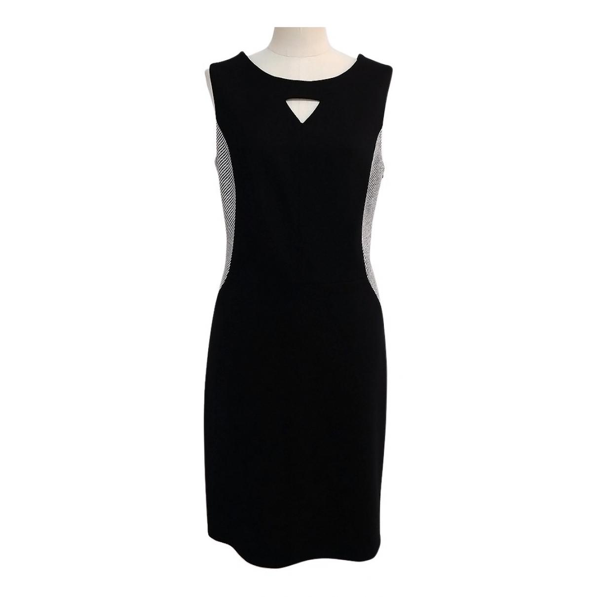 Karl Lagerfeld \N Kleid in  Schwarz Viskose