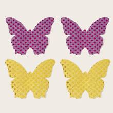 2pairs Butterfly Nipple Cover