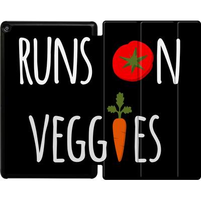 Amazon Fire HD 10 (2018) Tablet Smart Case - Runs on Veggies von caseable Designs