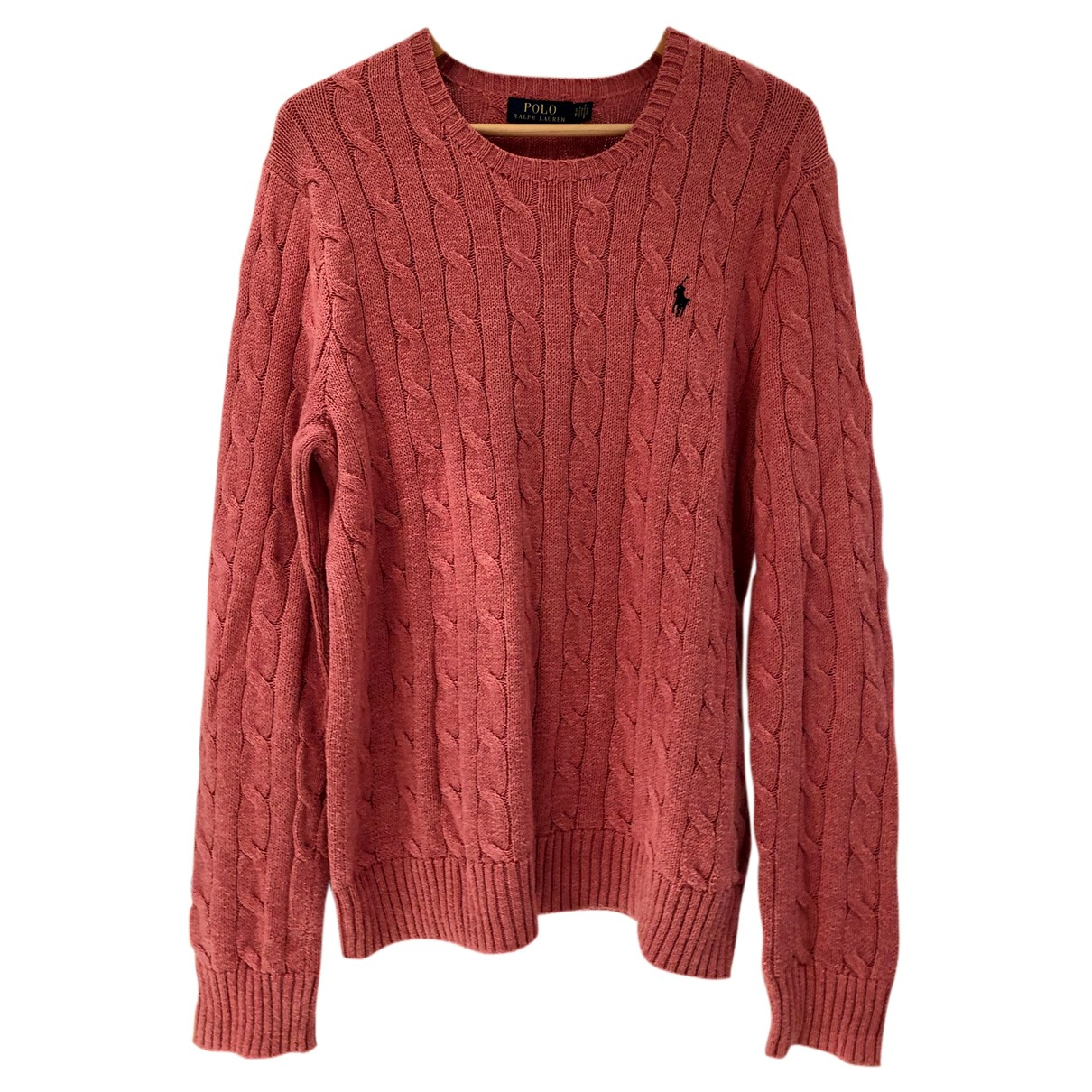 Polo Ralph Lauren N Pink Cotton Knitwear for Women 44 IT
