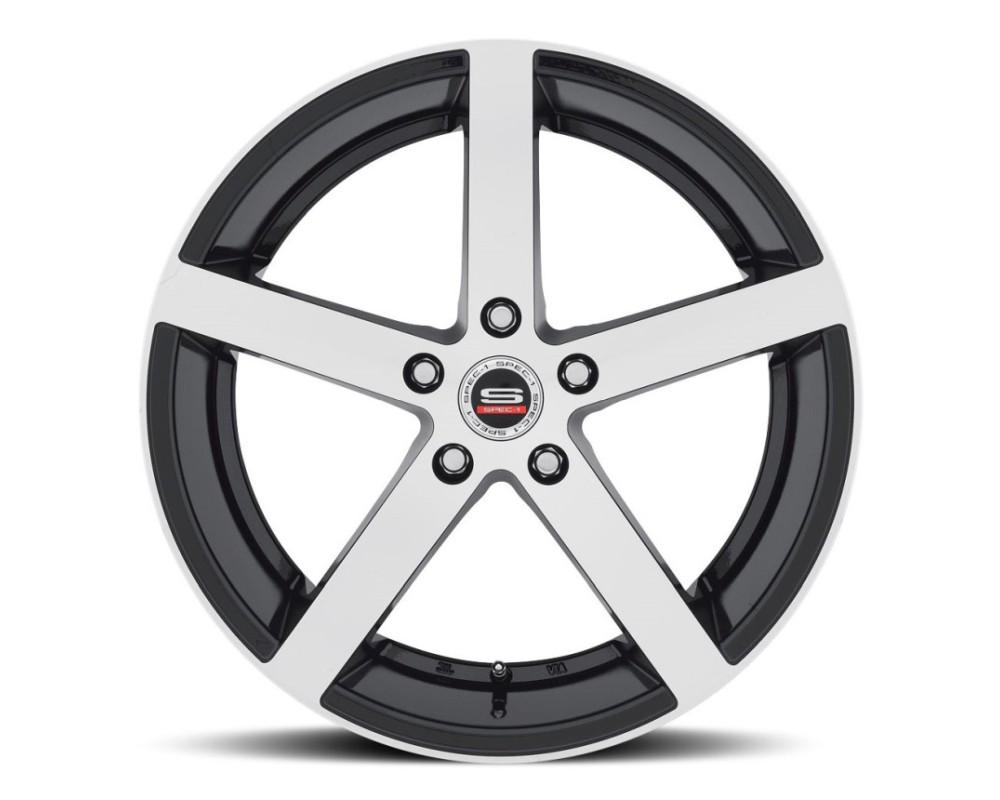Spec-1 SP-10 Wheel Racing Series 19x10 Blank 38mm Gloss Black Machined