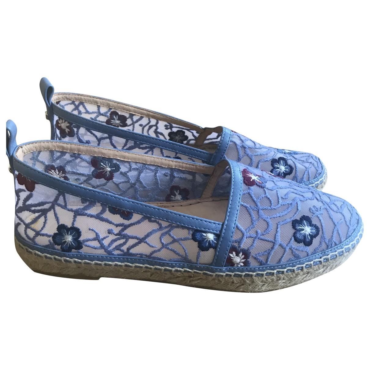 Longchamp - Espadrilles   pour femme - bleu