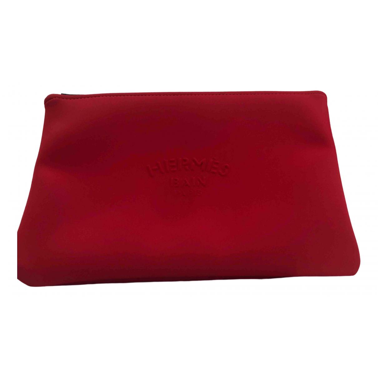 Bolsos clutch en Sintetico Rojo Hermes