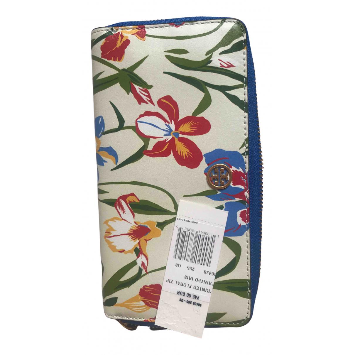 Tory Burch \N Beige Leather wallet for Women \N
