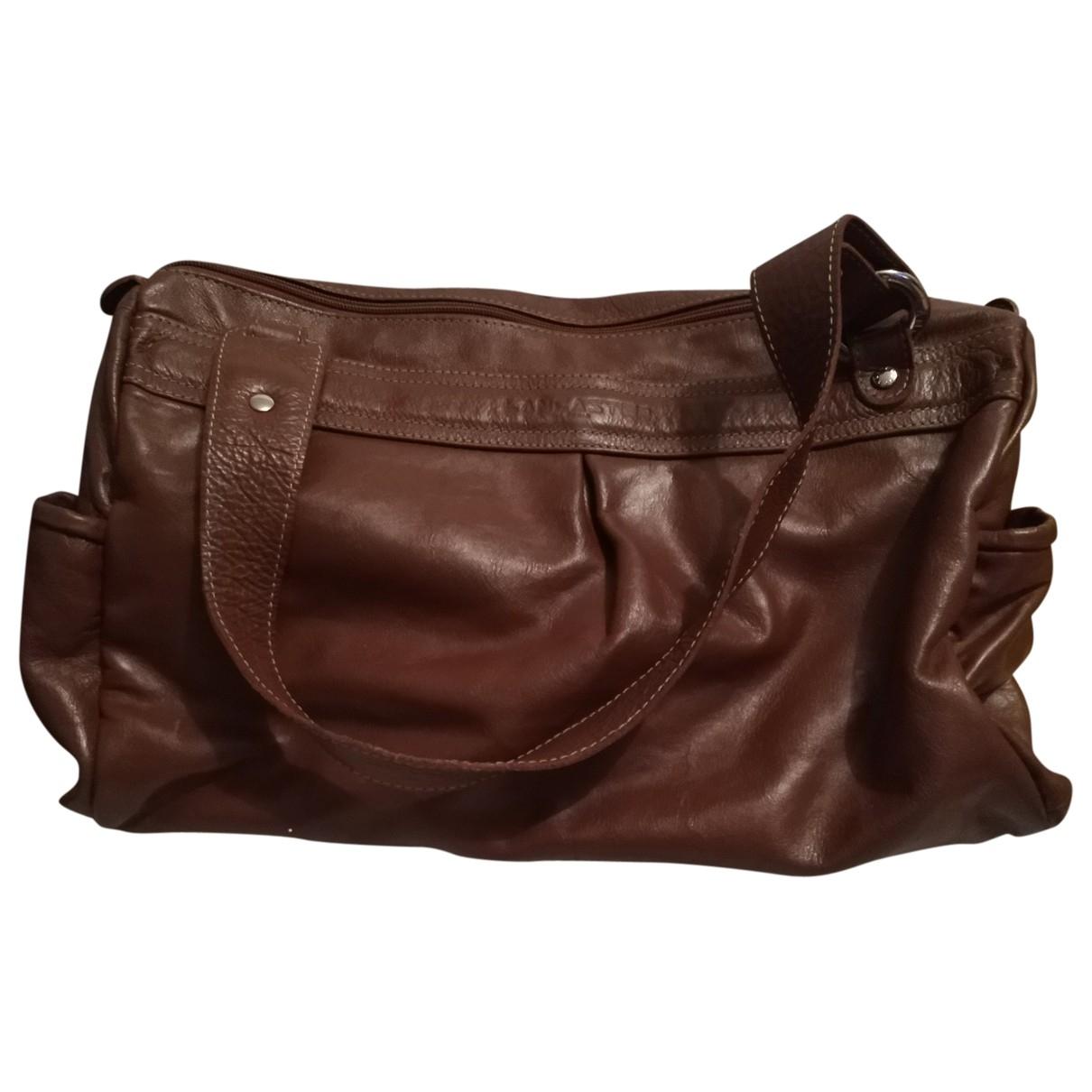 Lancaster \N Handtasche in  Kamel Leder