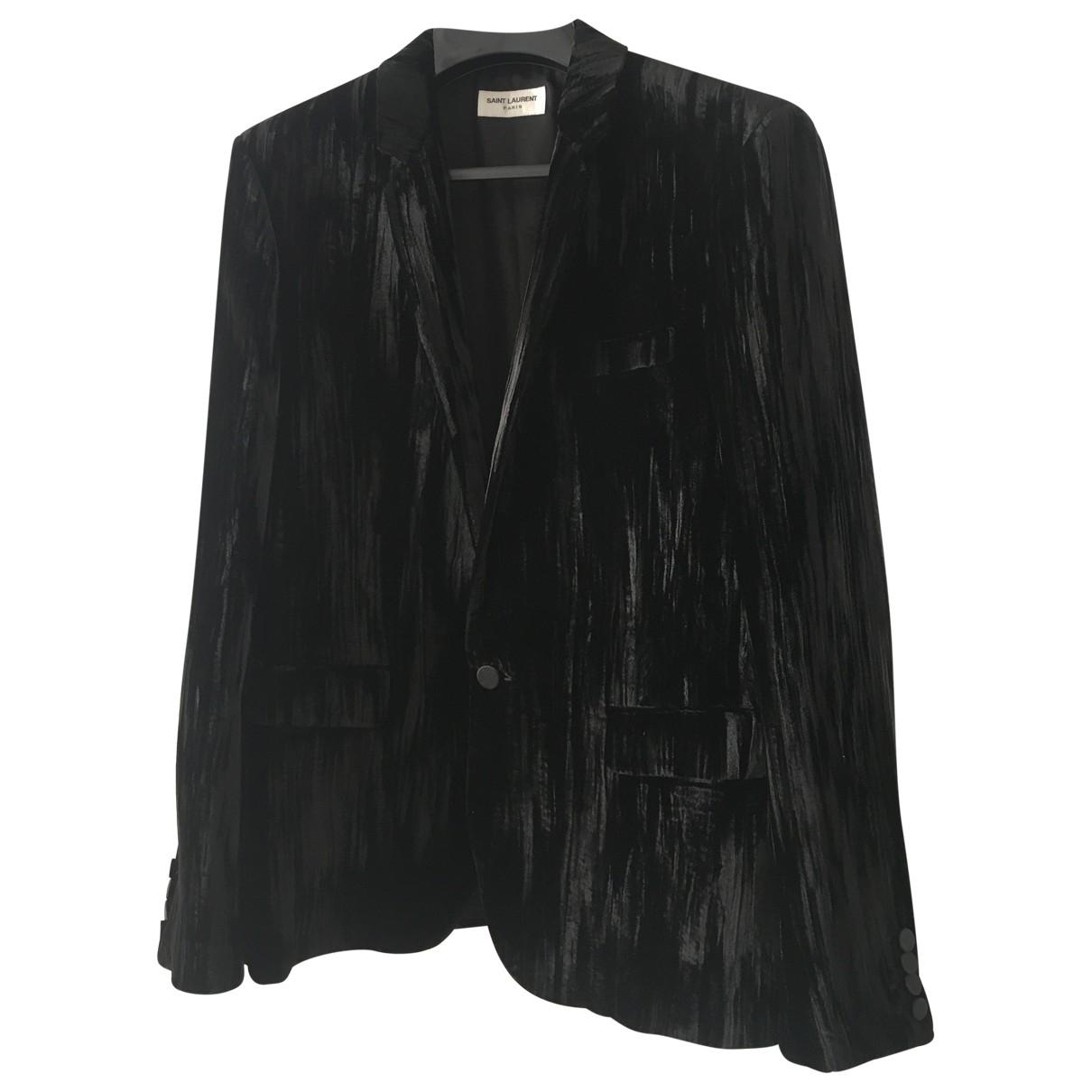 Saint Laurent \N Black jacket  for Men 50 FR
