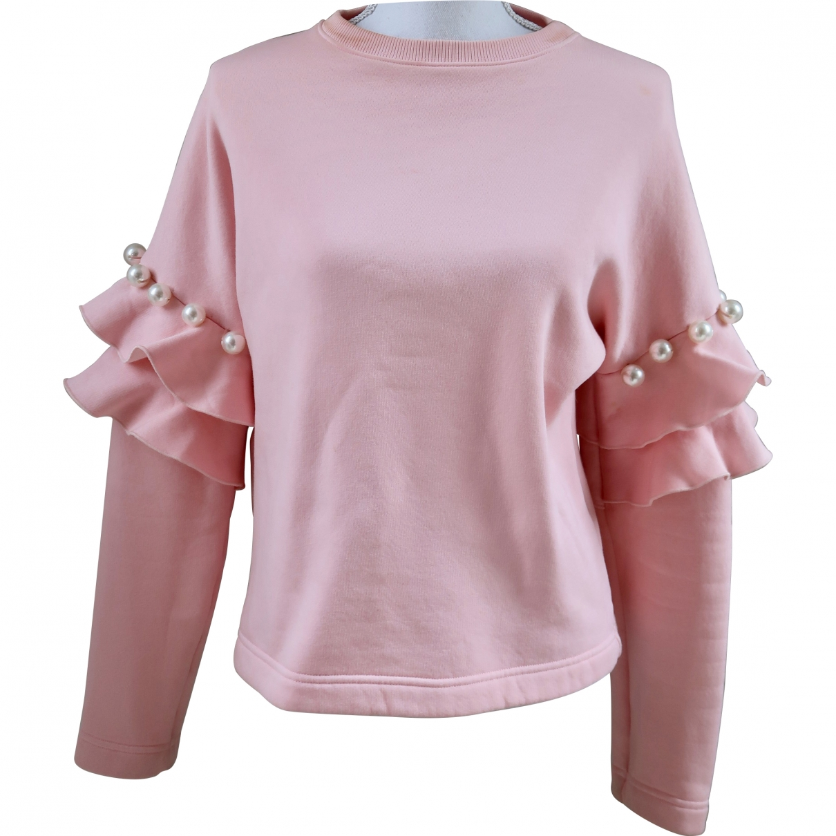 Non Signé / Unsigned \N Pink Cotton Knitwear for Women 40 IT