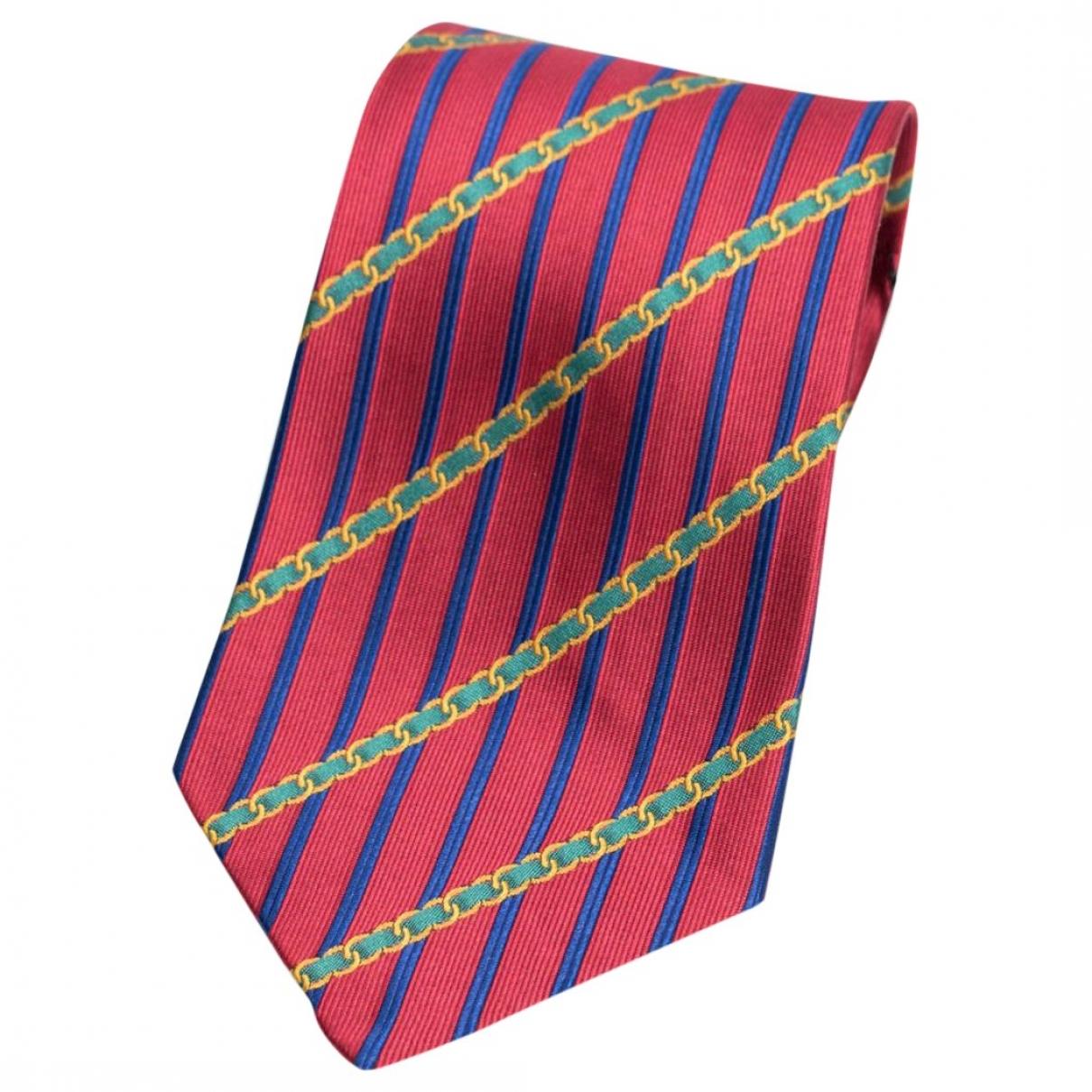 Chanel \N Red Silk Ties for Men \N
