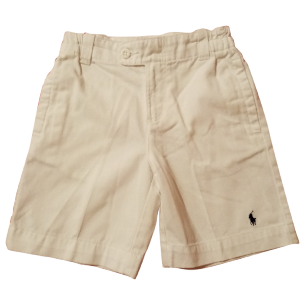 Polo Ralph Lauren \N White Cotton Shorts for Kids 5 years - up to 108cm FR