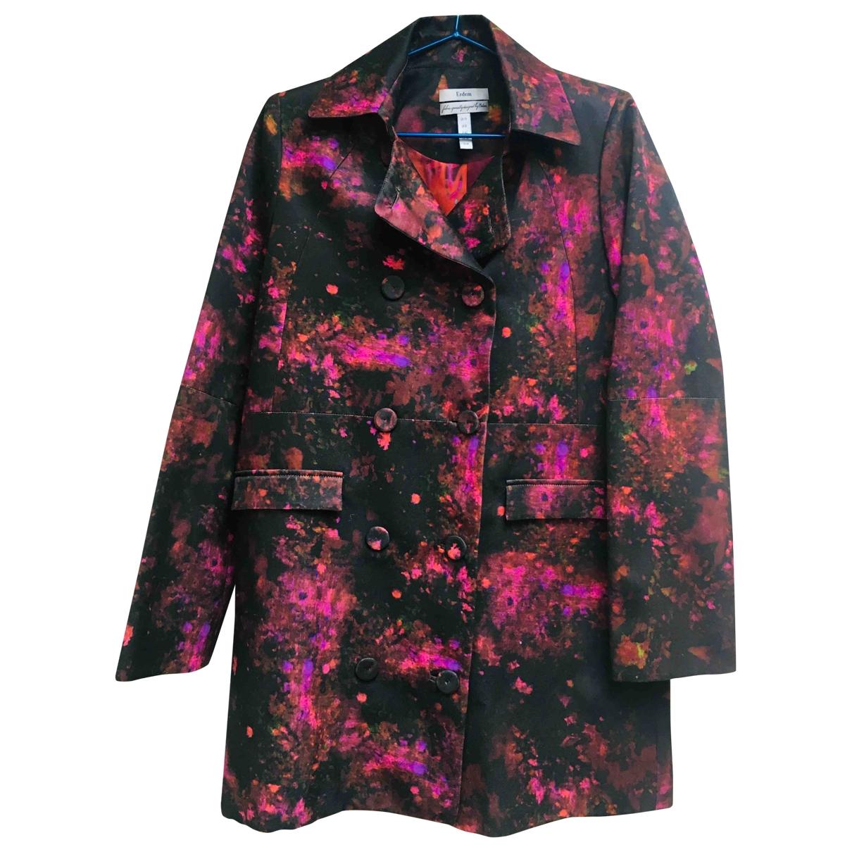 Erdem - Veste   pour femme en soie - multicolore