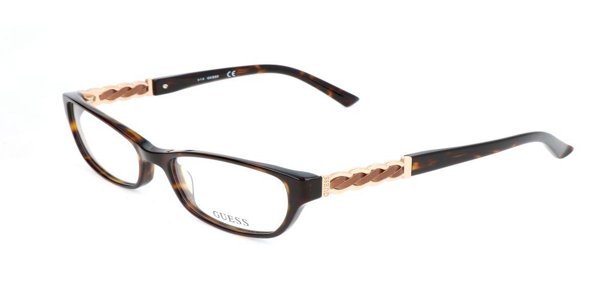 Guess GU 2380 S30 Women's Glasses Tortoise Size 55 - Free Lenses - HSA/FSA Insurance - Blue Light Block Available