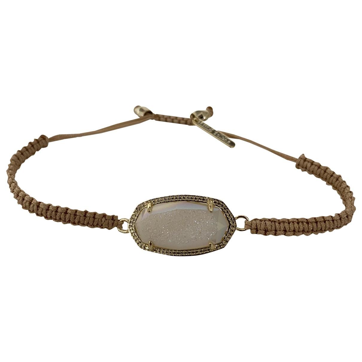 Non Signé / Unsigned \N Beige Metal bracelet for Women \N