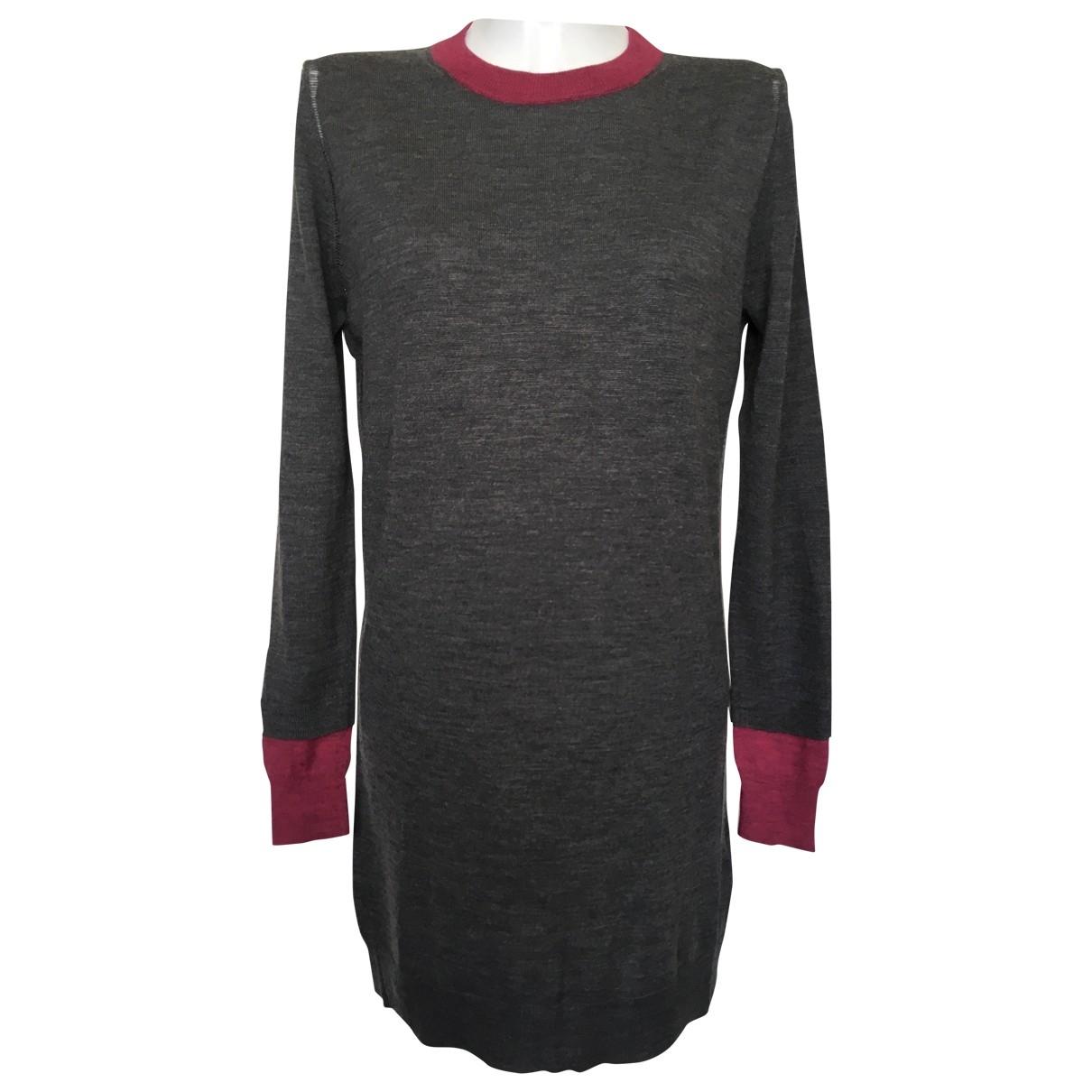 Zadig & Voltaire \N Grey Wool dress for Women S International