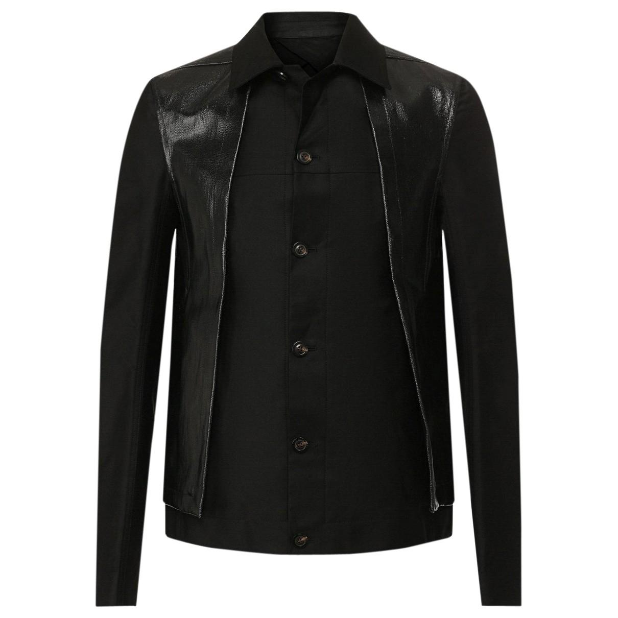 Rick Owens \N Black Cotton jacket  for Men 50 IT