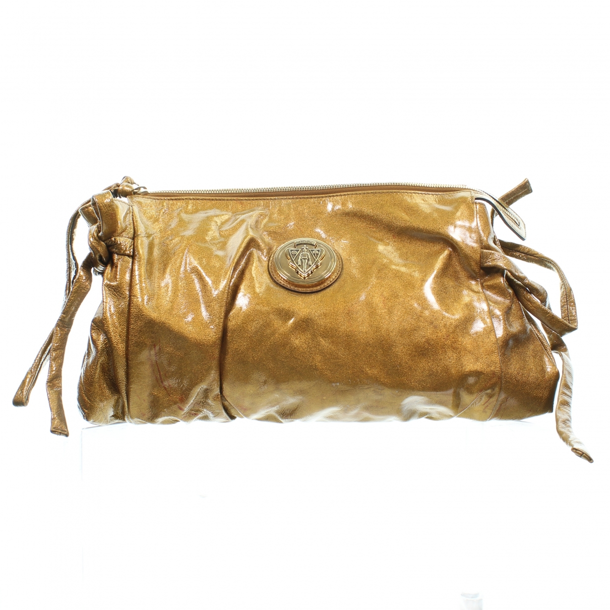 Gucci Hysteria Gold Leather Clutch bag for Women \N