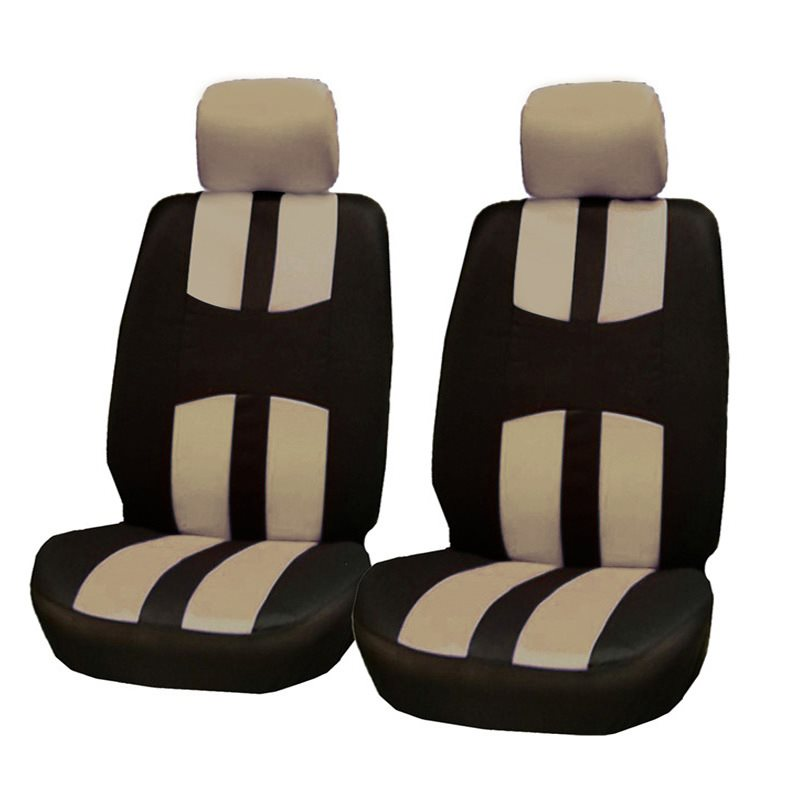 Comfortable Air Permeability Easily Installed,Easy To Demolition, Easy To Clean Bird Eye Cloth 2-Seats Car Seat Covers