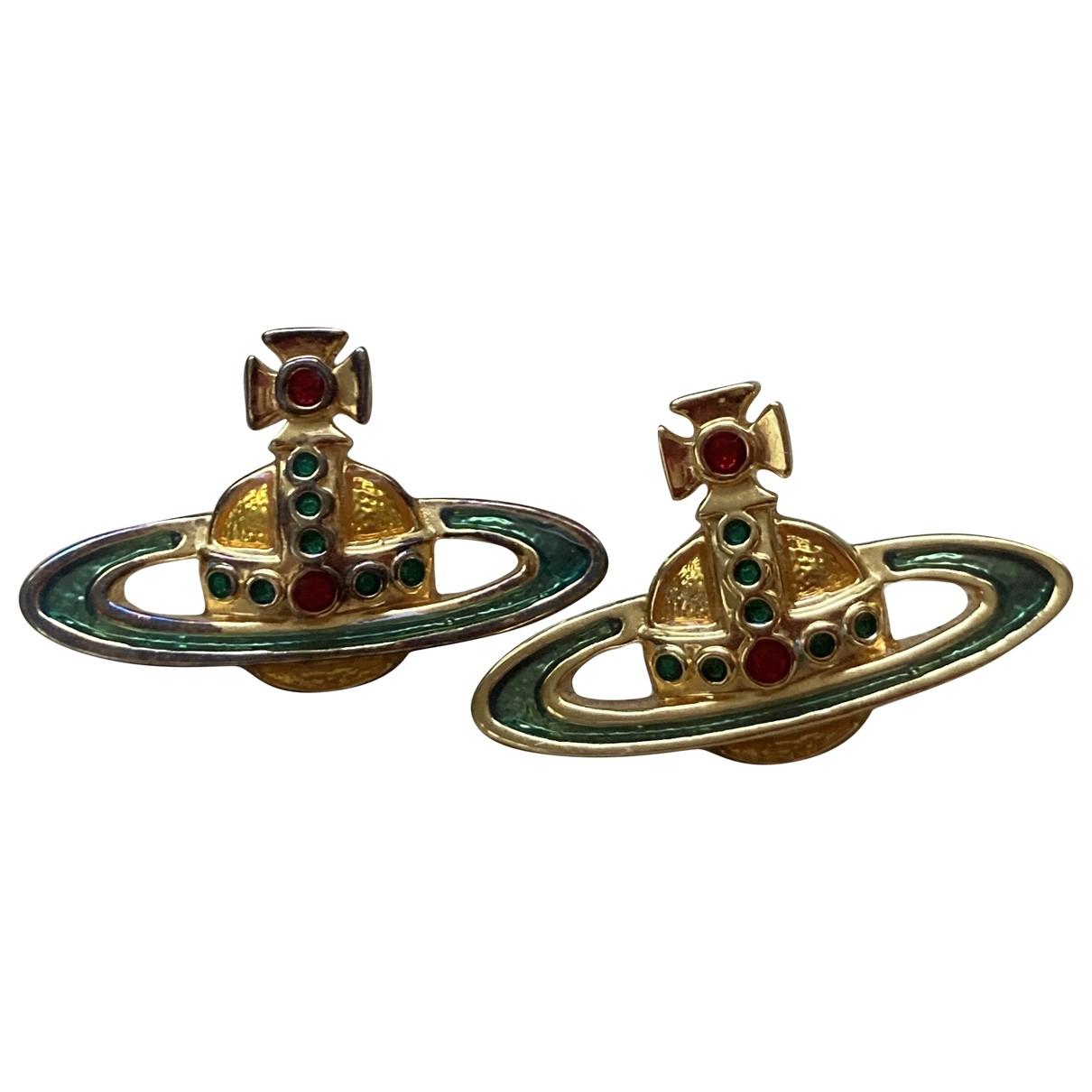 Vivienne Westwood \N Gold Metal Earrings for Women \N