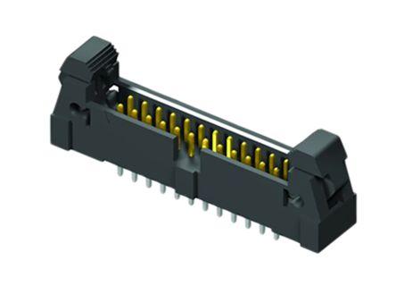 Samtec , EHT, 16 Way, 1 Row, Straight PCB Header (2)