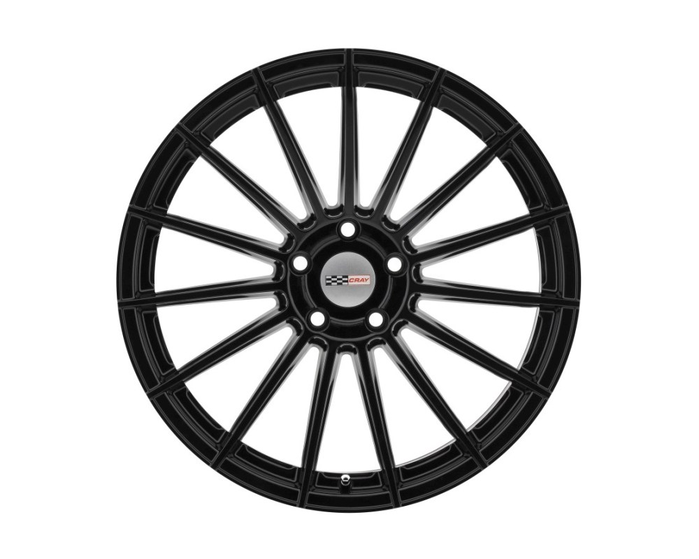 Cray Mako Wheel 20x10.5 5x120.65 5x4.75 65mm Gloss Black