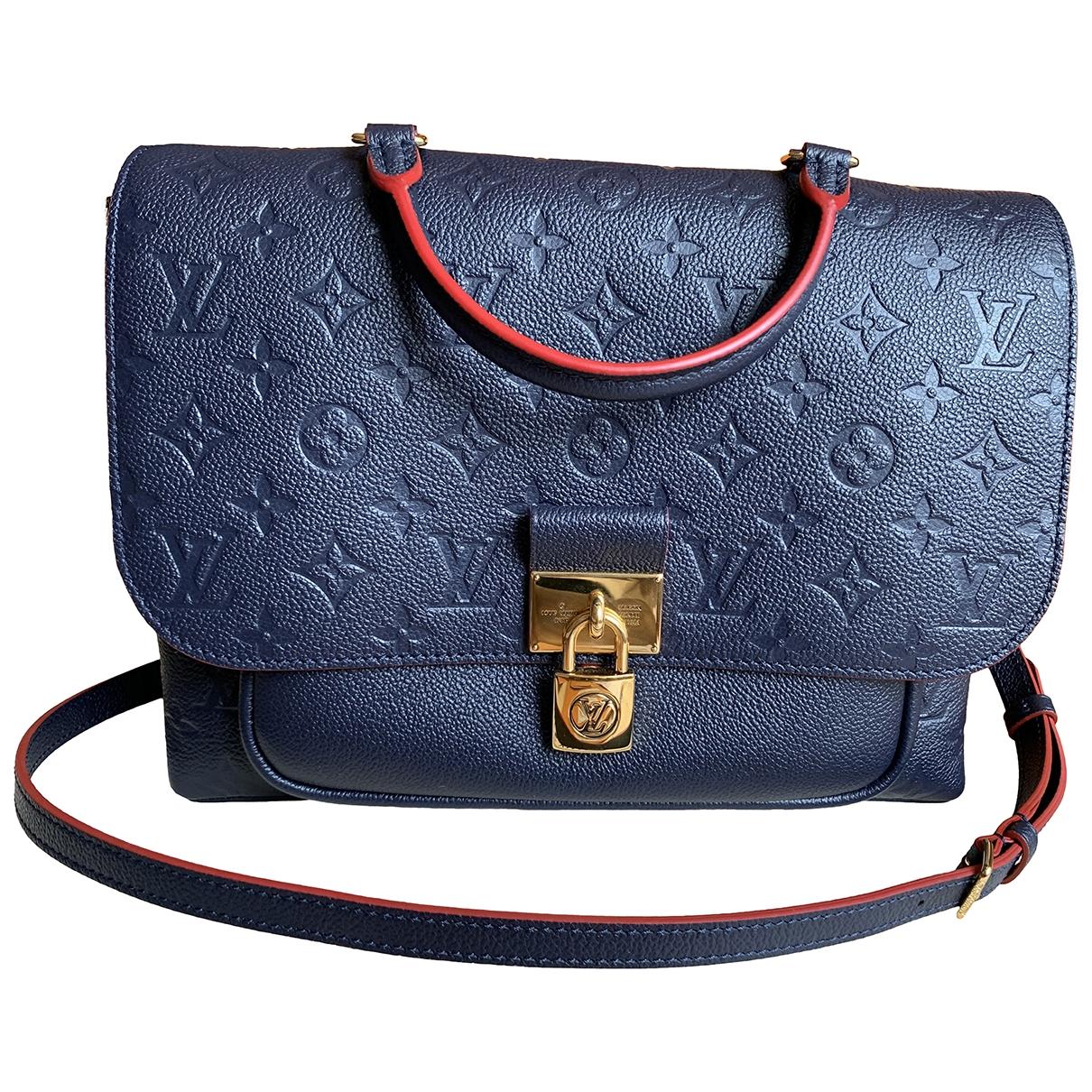 Bolso  Marignan de Cuero Louis Vuitton
