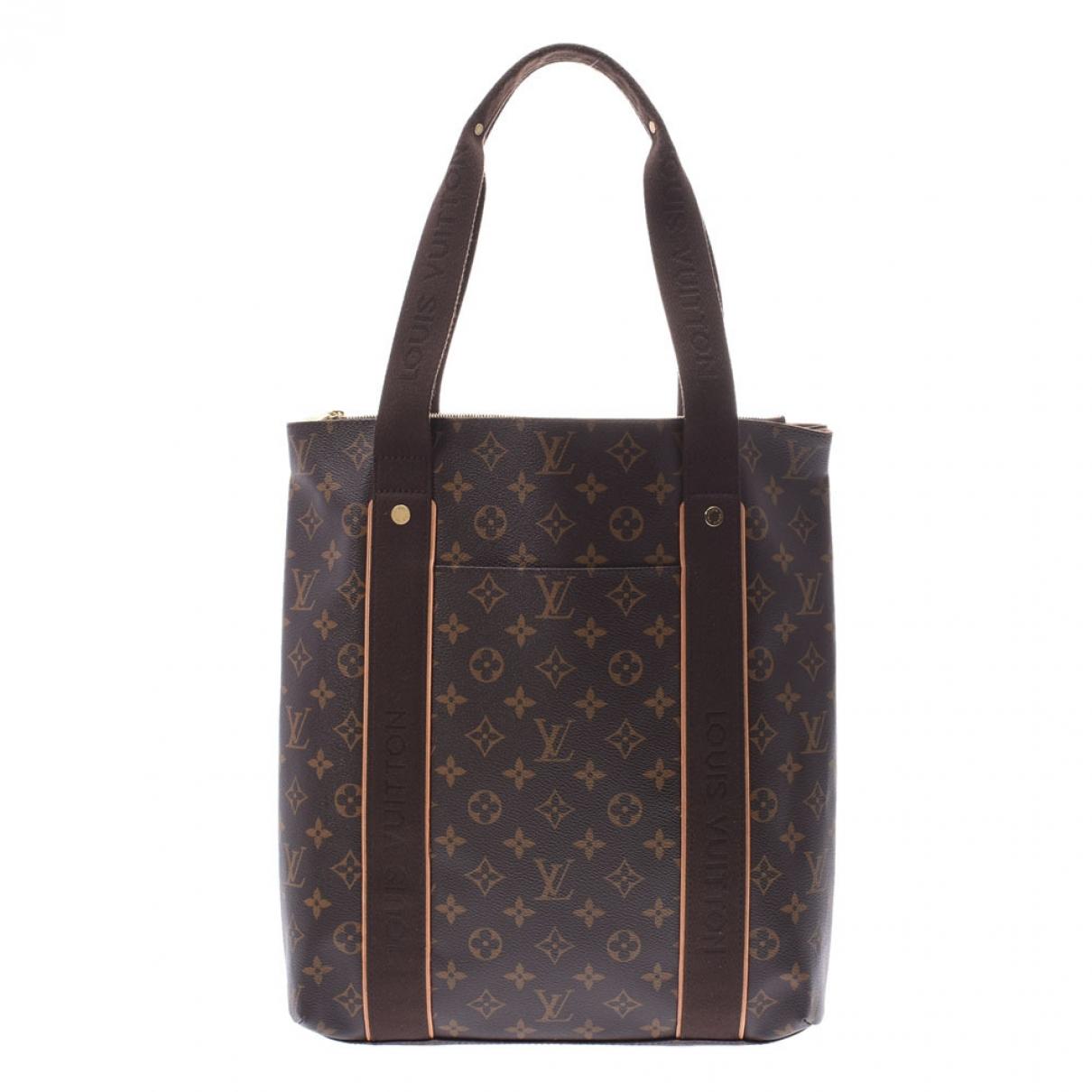 Bolso  Beaubourg de Lona Louis Vuitton