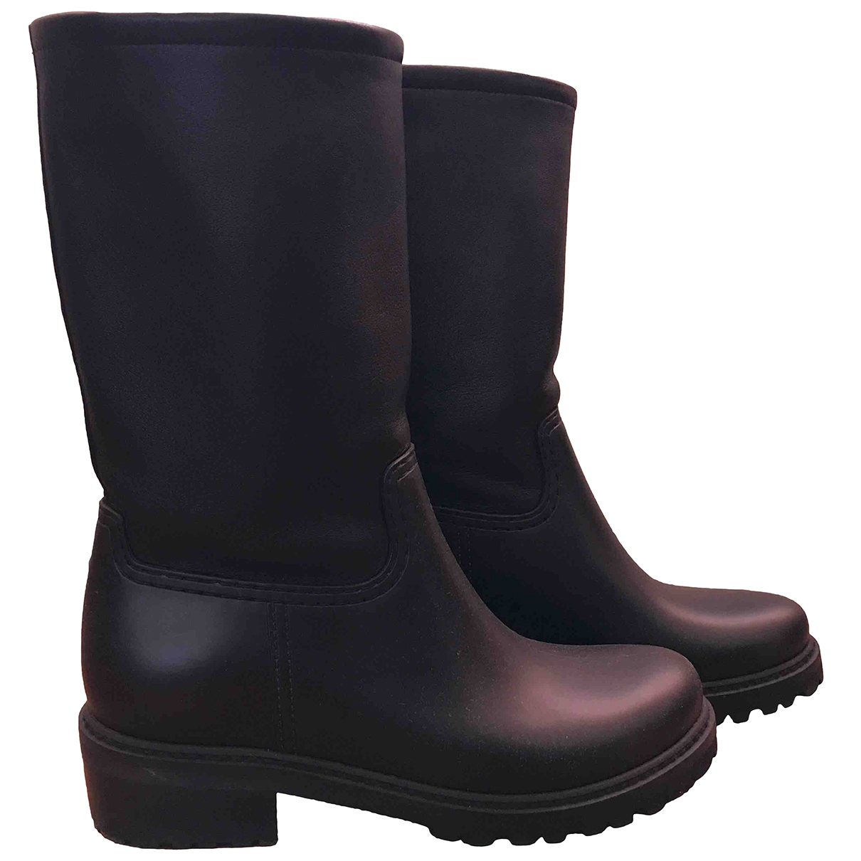 Stuart Weitzman \N Black Leather Boots for Women 38 EU