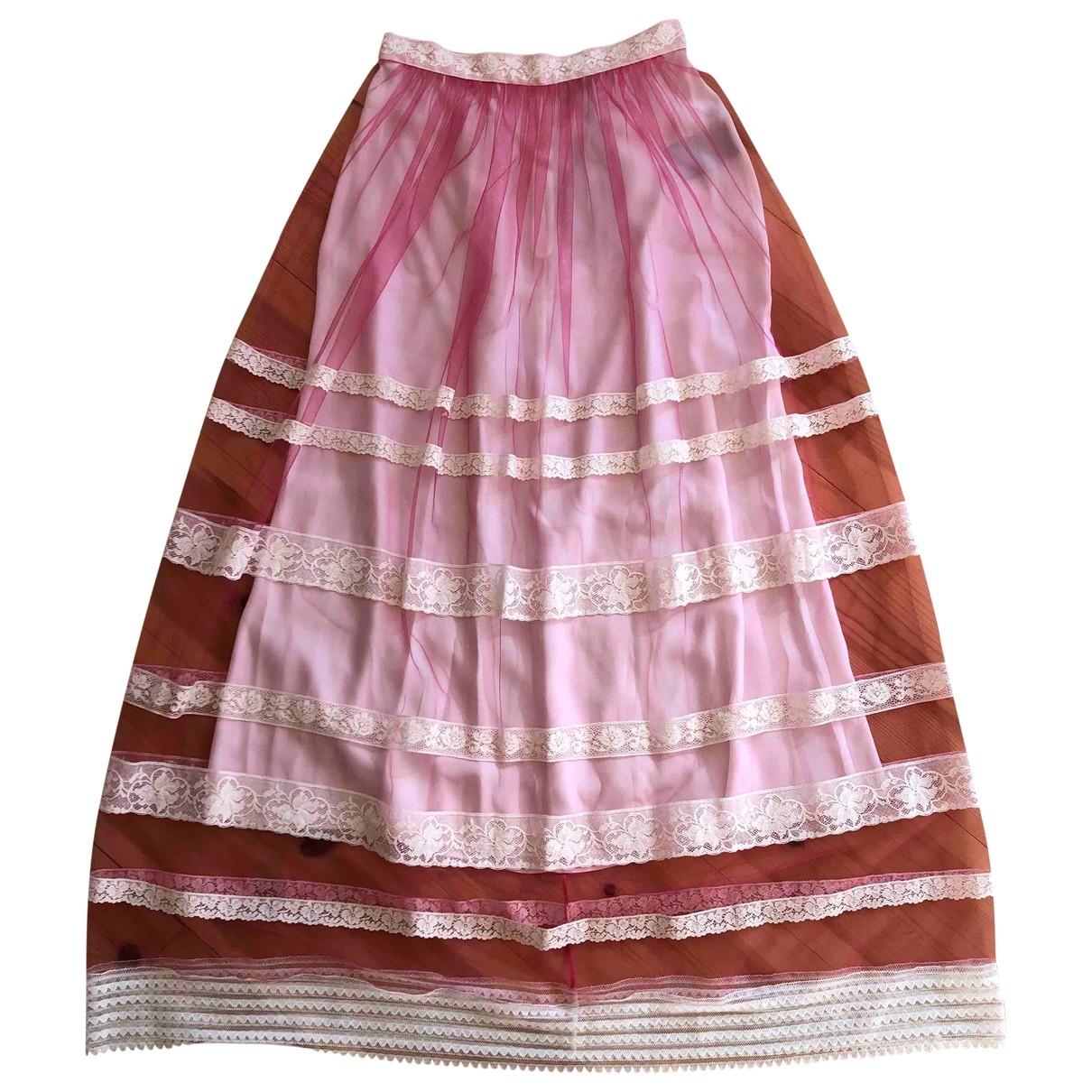 Burberry \N Pink skirt for Women 6 UK