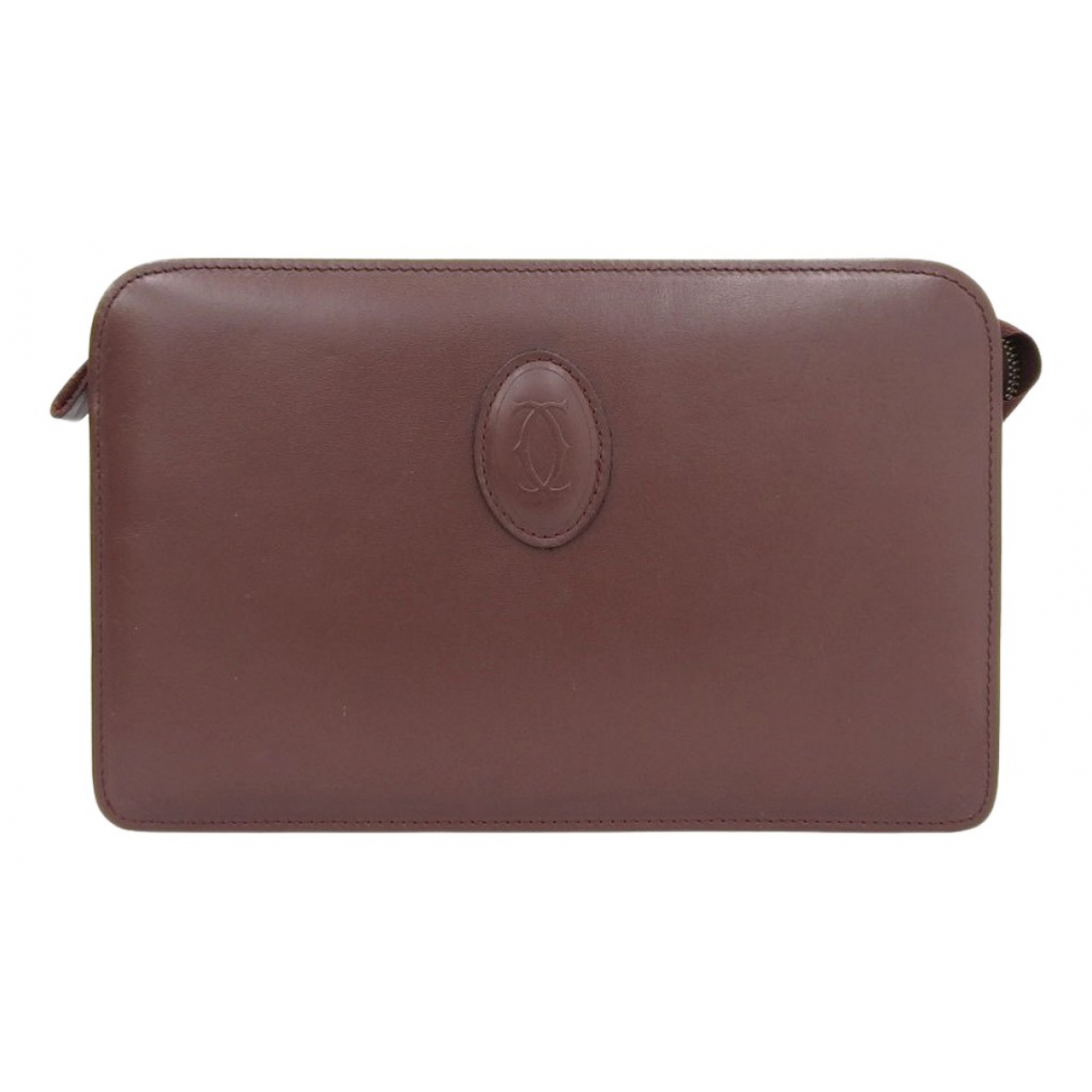 Cartier N Brown Leather Clutch bag for Women N