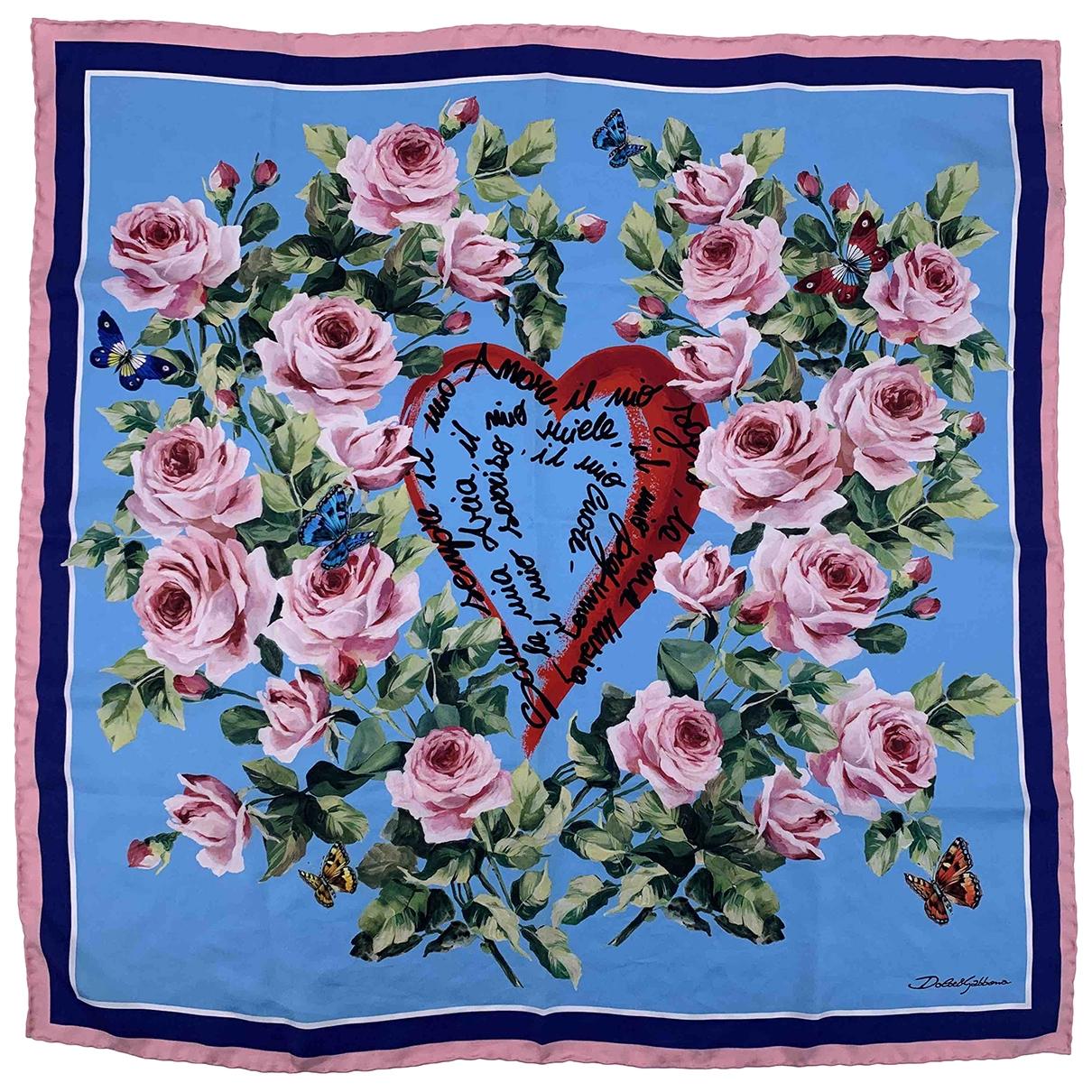 Dolce & Gabbana \N Multicolour Silk Silk handkerchief for Women \N