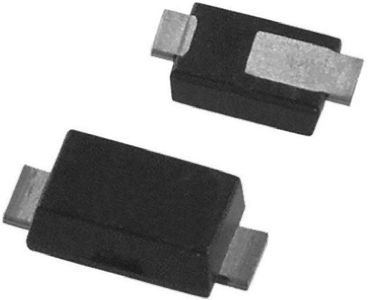 DiodesZetex Diodes Inc 400V 1A, Silicon Junction Diode, 2-Pin PowerDI 123 DFLR1400-7 (25)