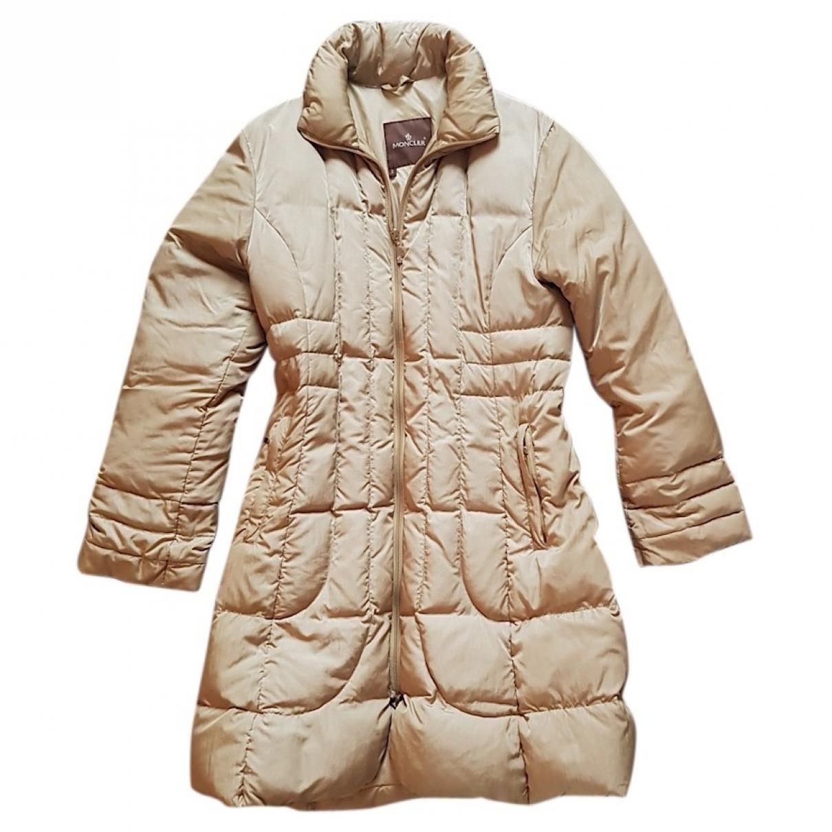 Moncler Long Beige coat for Women 2 0-5