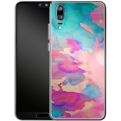 Huawei P20 Silikon Handyhuelle - Dawn Light von Amy Sia
