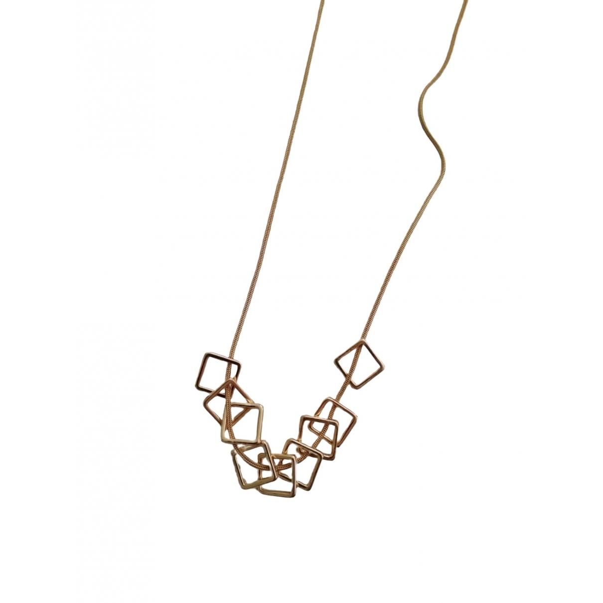 - Sautoir Chaines pour femme en metal - dore